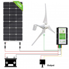 Energy Generation Kit SunPower SPR-E-Flex 50W/12V