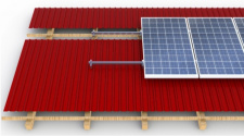 Mounting system on pitched roof CORAB (5kW-10kW)